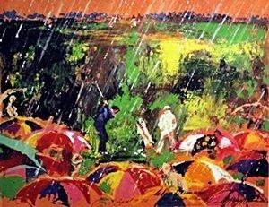 Golf in the Rain