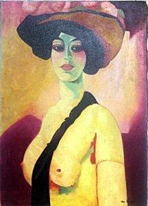 Bella Gisselle - Oil on Canvas - Kees Van Dongen