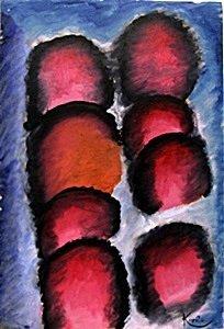Oil Painting on Paper - Frantisek Kupka