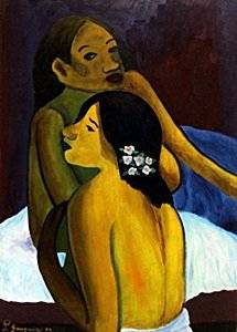 Two Woman 1899' - Paul Gauguin