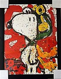 To Remember - Original Lithograph by Tom Everhart