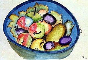 Fruitas 1940' - Frida Kahlo