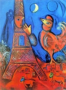 Giclee on Paper after Marc Chagall