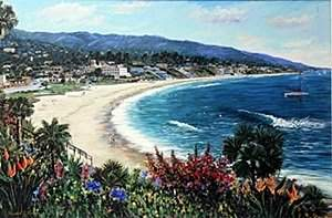 "Giclee ""Laguna Vista"" after Michael J. Lavery"