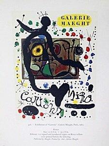 "Print ""Cartons"" by Joan Miro"