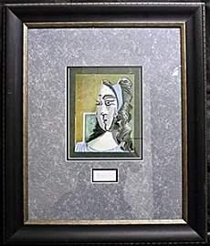 "Original Lithograph ""Jacqueline 1962""  by Pablo Picasso"