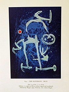 "Lithograph ""The Illiterate"" by Joan Miro"