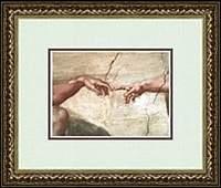 THE CREATION OF ADAM B YMICHAELANGELO