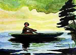 The Green Boat - Winslow Homer