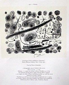 "Lithograph ""derriere Le Miroir"" By Joan Miro"