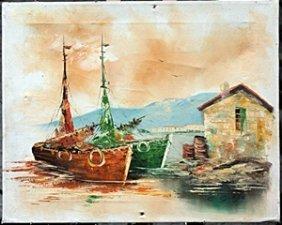 Original Acrylic Painting By C. Gibbs