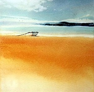 "Giclee ""Golden Sands"" after Ged Mitchel"