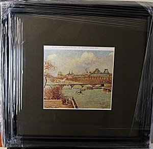 Framed Lithograph by Pissarro