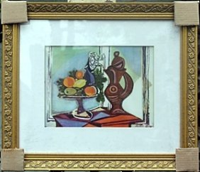 """still Life D"" By Pablo Picasso"