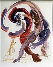 Lithograph After  Salvador Dali