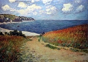 Giclee on Canvas after Monet