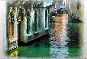 "Giclee ""Grand Canal"" after Kris Peterson"