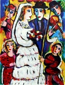 "Serigraph ""The Wedding"" after Zamy Steynovitz"