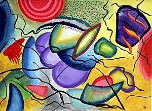 Composition 1913' - Wassily Kandinsky