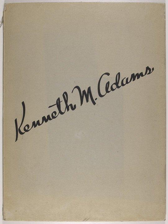1: Adams, Kenneth M., 1897-1966