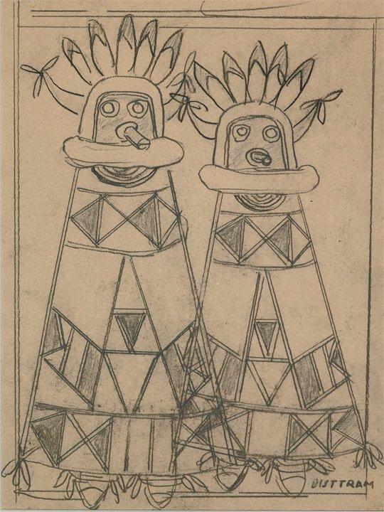 4: Bisttram, Emil, 1895-1976