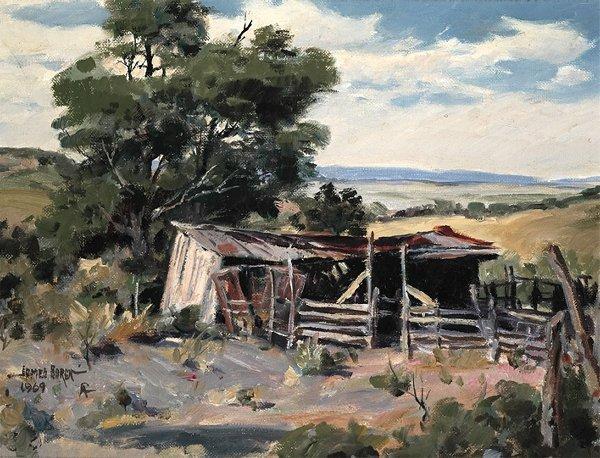18: Boren, James, 1921-1990