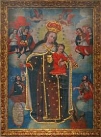 Virgen del Carmen con Nino