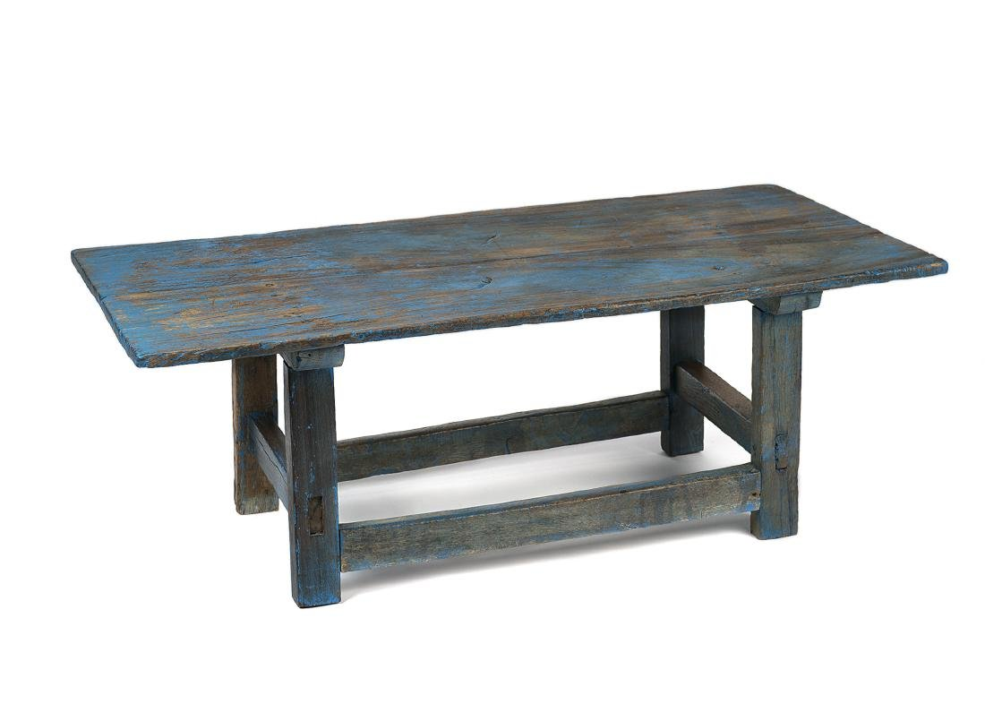 Turquoise Bench