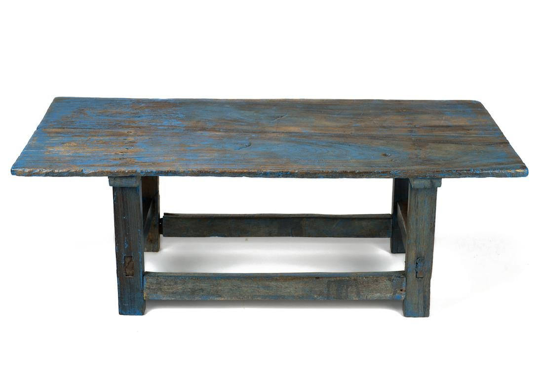 Turquoise Bench - 2