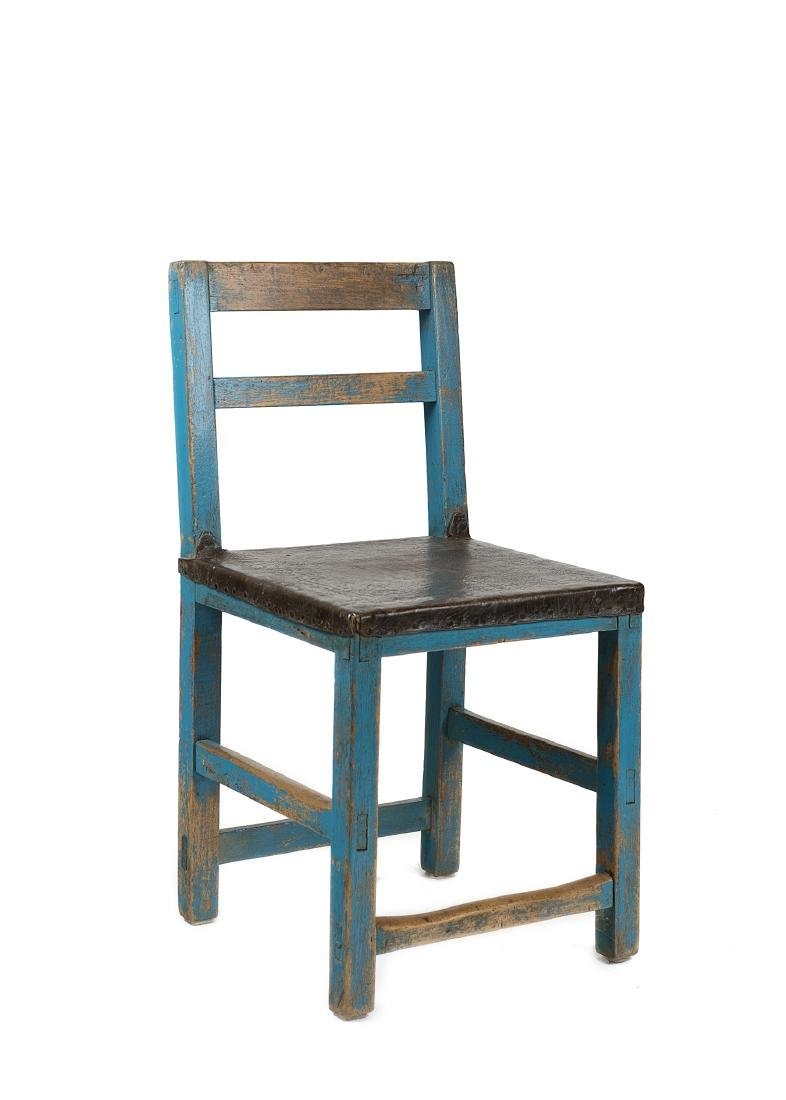 New Mexico Turquoise Chair