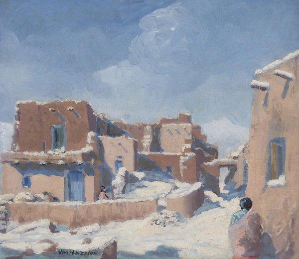 61: von hassler carl painting american art