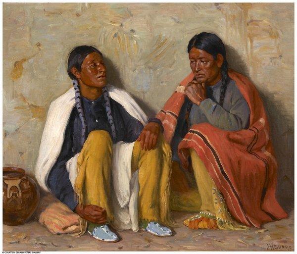 87: sharp joseph painting american art