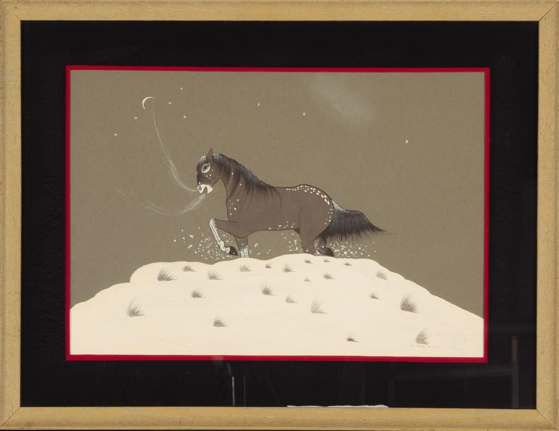 Big Bow, Woody (Tse Ko Yate), Kiowa - 2