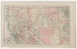 Group of Early Maps of California  the Southwest