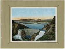 Five Southwestern Scene Chromolithographs