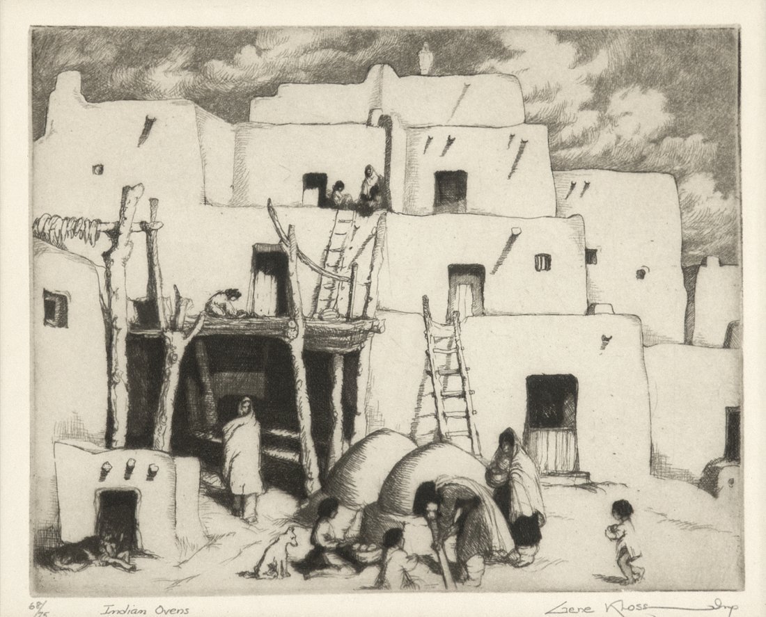 Gene Kloss, Indian Ovens, 1941