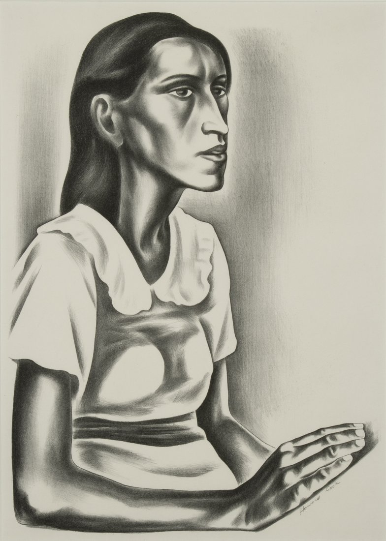 Howard Cook, Cumberland Girl, 1937