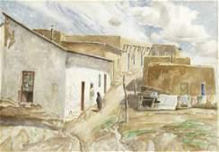 Carl Redin, Santa Fe Street Scene