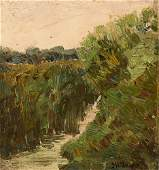 Joseph Henry Sharp, Landscape