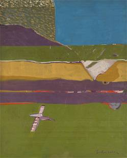 Fritz Scholder, New Mexico Revisited #2