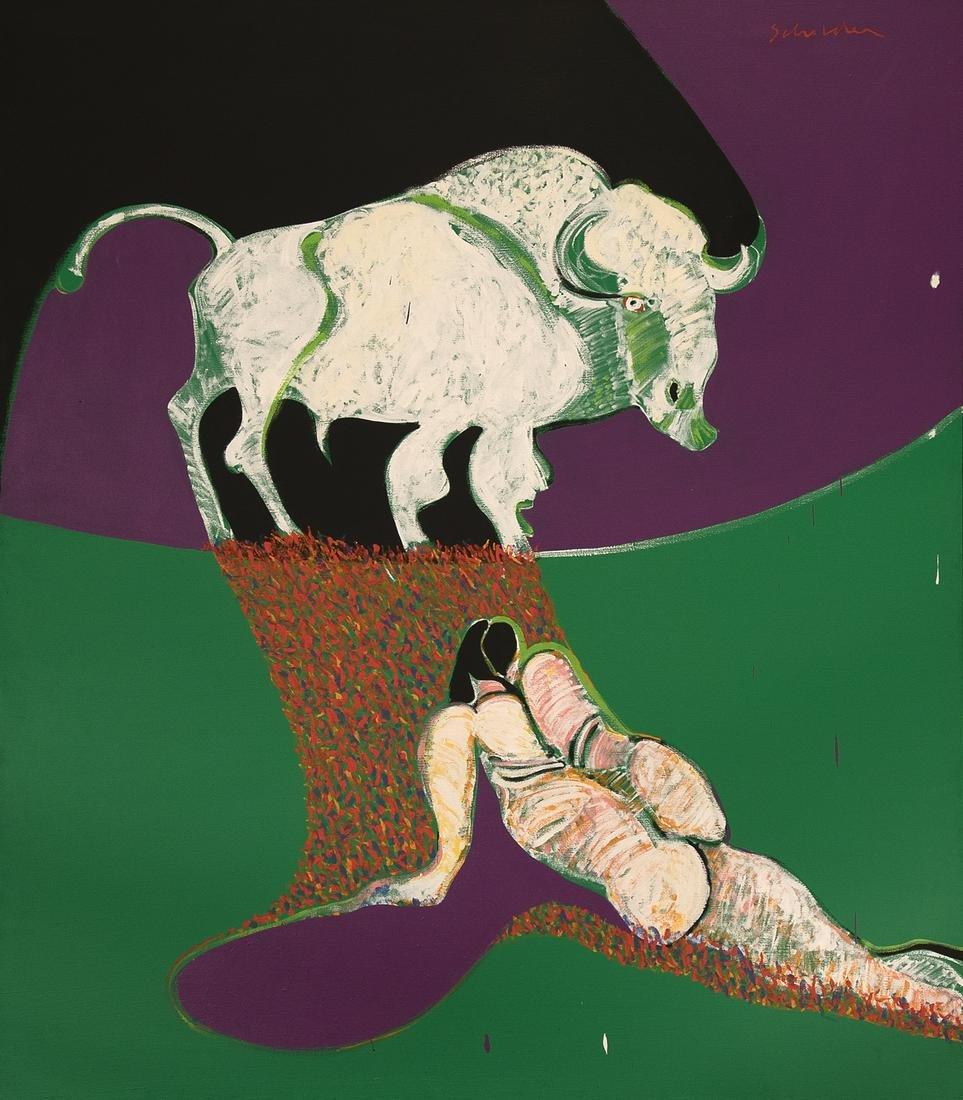 Fritz Scholder, Untitled (Buffalo Spirit)