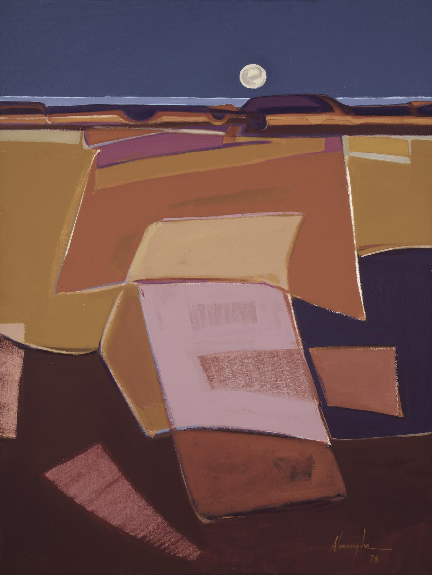 Dan Namingha, Studio View, 1978