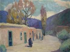 Clara Walsh Leland, Santa Fe Scene