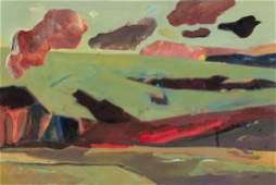 Gail Factor Abstract Rio Grande Gorge 1997