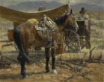 Wayne Baize, Around the Water Wagon, 1990