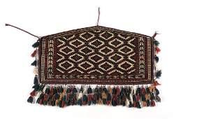 Turkmen Torba Afghan Rug, ca. 1950