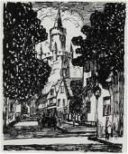 Alfred Morang Street Scene