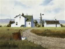 Gerald Lilly Untitled Farm Scene