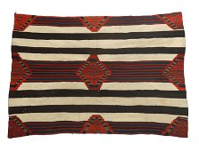 Navajo, Third Phase Chief's Blanket, ca. 1865-1875