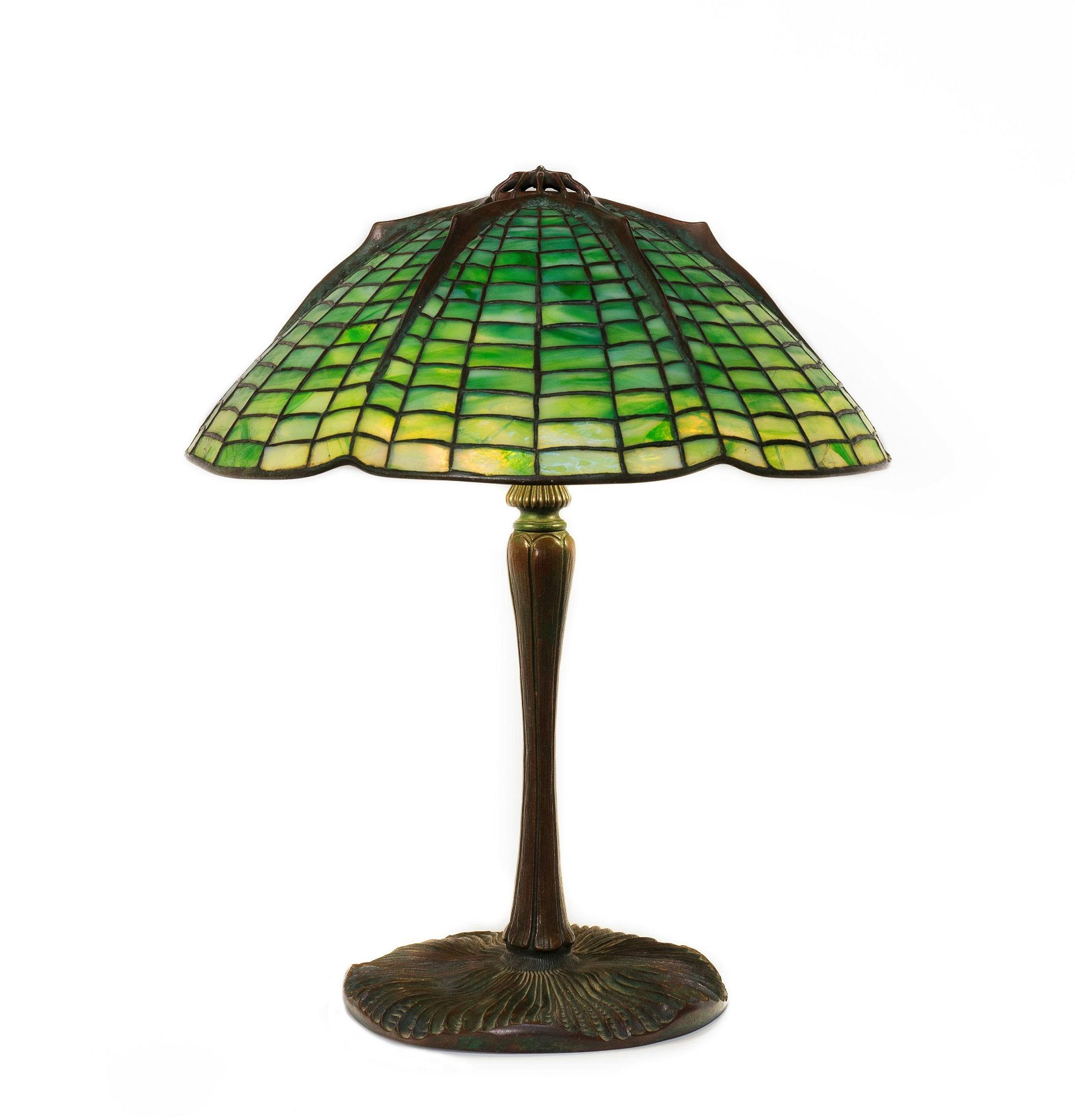 "Tiffany Studios New York, ""Spider"" Table Lamp"